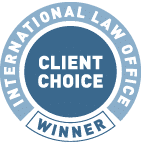ILO Client Choice Winner
