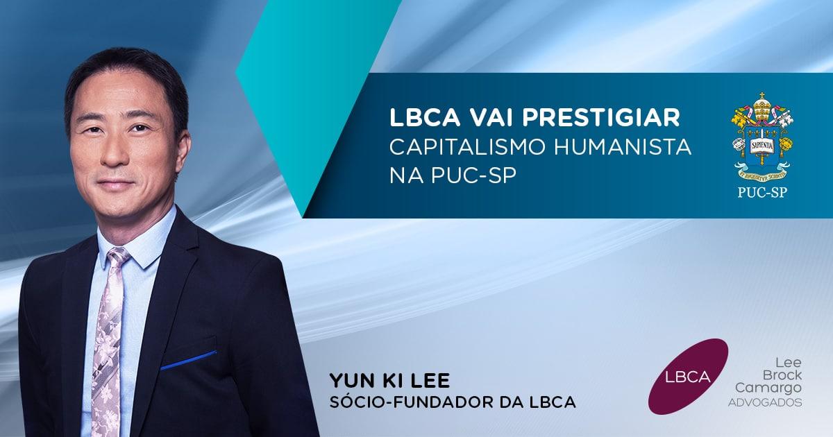 LBCA na PUC-SP para falar sobre Capitalismo Humanista
