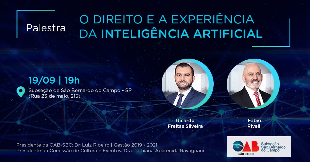 palestra sobre Inteligência Artificial na OAB