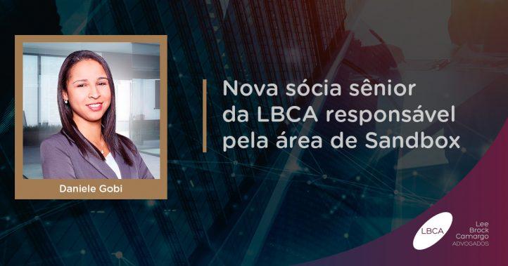 LBCA anuncia Daniele Gobi como nova sócia-diretora