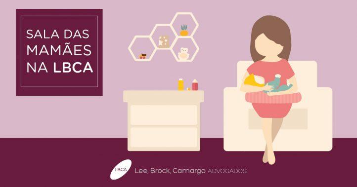 LBCA amplia Sala das Mamães como incentivo ao aleitamento materno