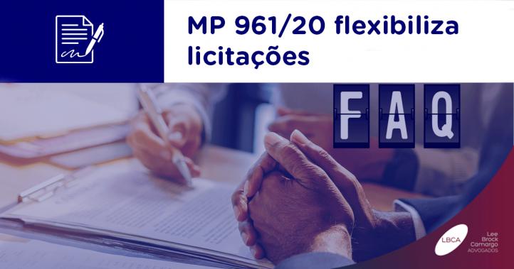 MP 961/20 flexibiliza licitações