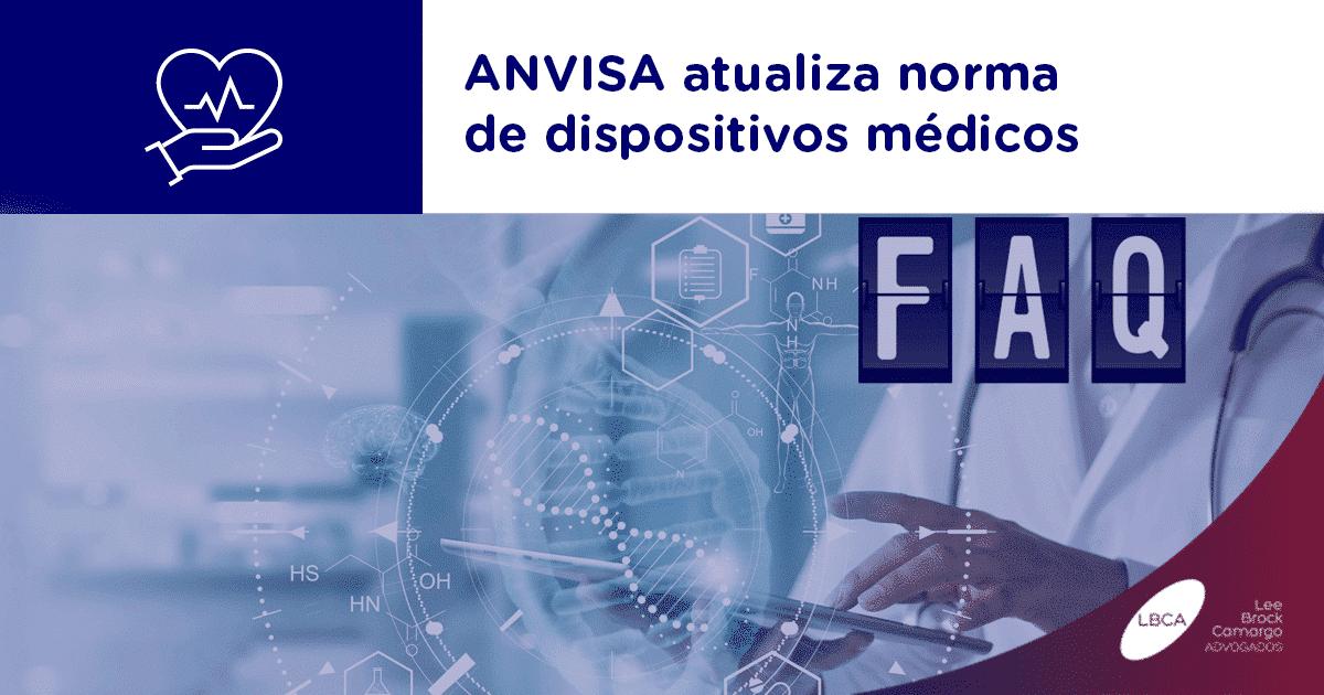 ANVISA atualiza norma de dispositivos médicos