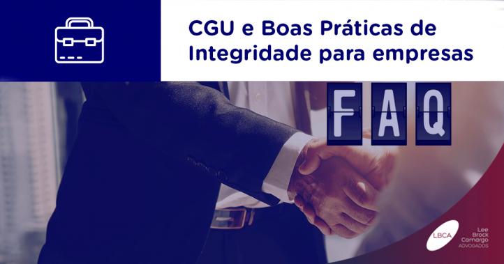 CGU e Boas Práticas de Integridade para empresas