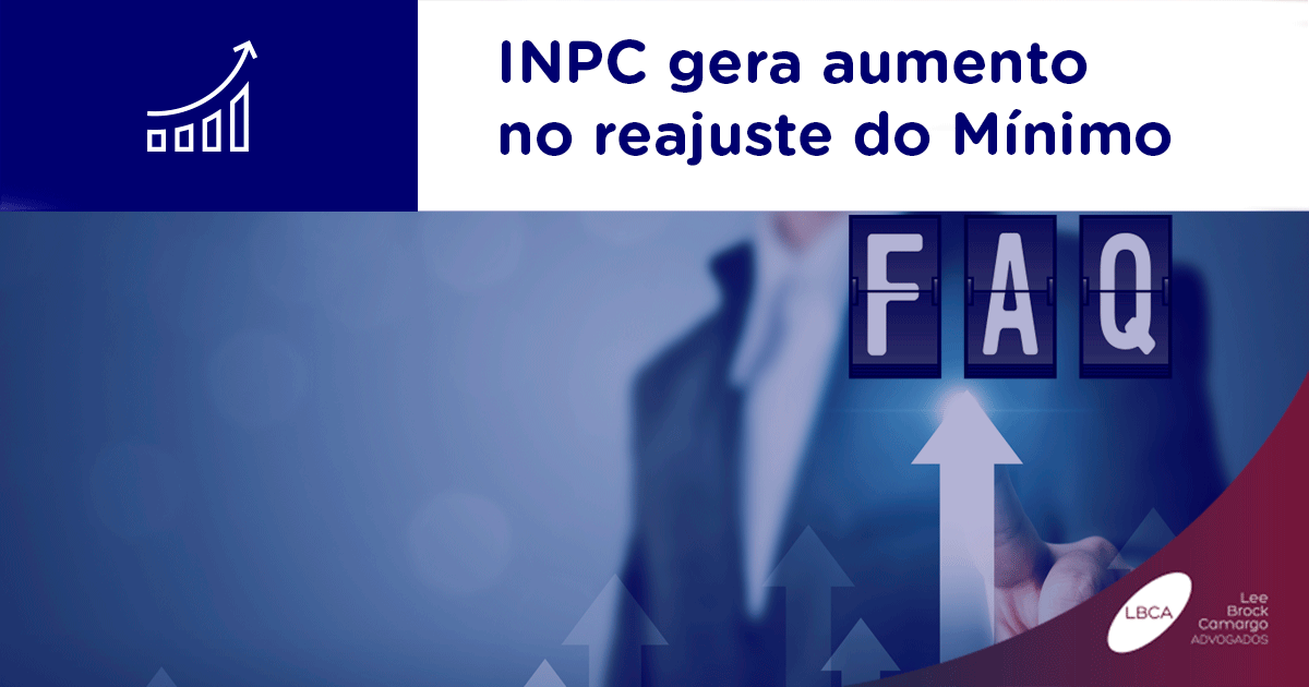 INPC gera aumento no reajuste do Mínimo