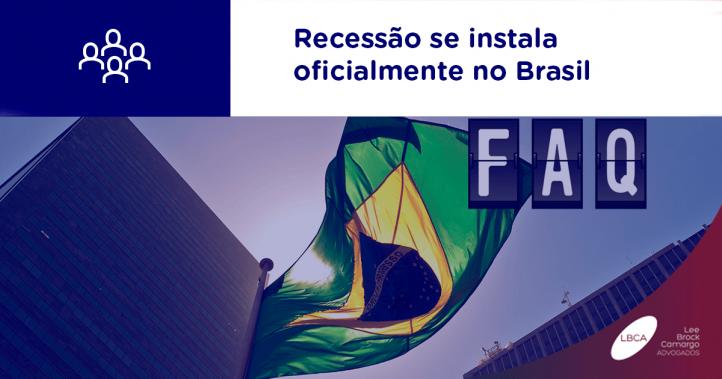 Recessão se instala oficialmente no Brasil