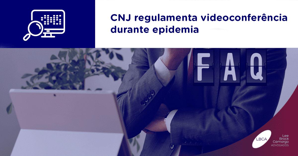 CNJ regulamenta videoconferência durante epidemia