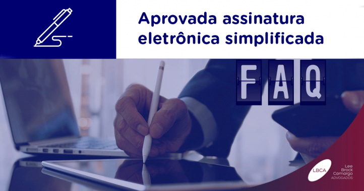 Aprovada assinatura digital simplificada