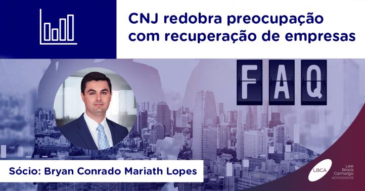 CNJ recuperação de empresas
