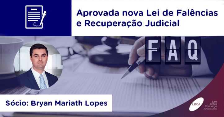 Aprovada nova Lei de Falências e Recuperação Judicial