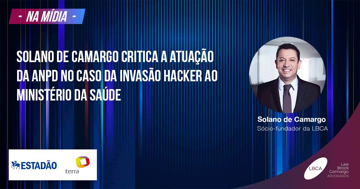 Ministério da Saúde e invasão hackers