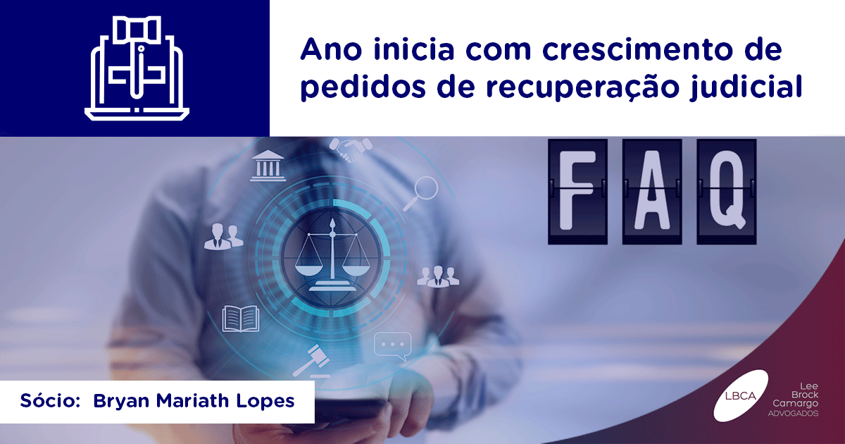 Ano inicia com crescimento de pedidos de recuperação judicial