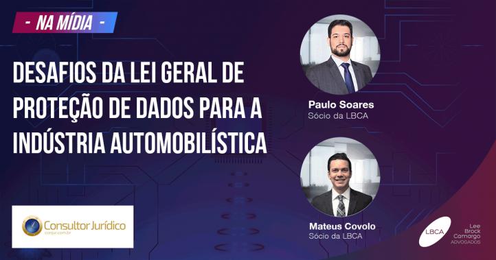 Desafios da Lei Geral de Proteção de Dados para a indústria automobilística
