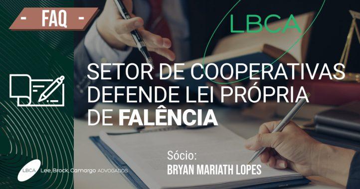 Lei de falência: setor de cooperativas defende lei própria