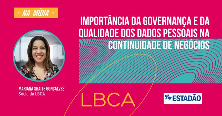 Importância da governança e da qualidade dos dados pessoais na continuidade de negócios