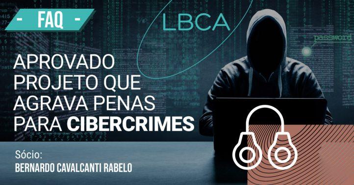 Cibercrimes possui penas agravadas devido a projeto aprovado