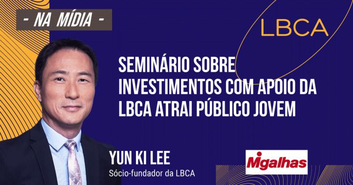 LBCA presta apoio a seminário sobre investimentos para público jovem