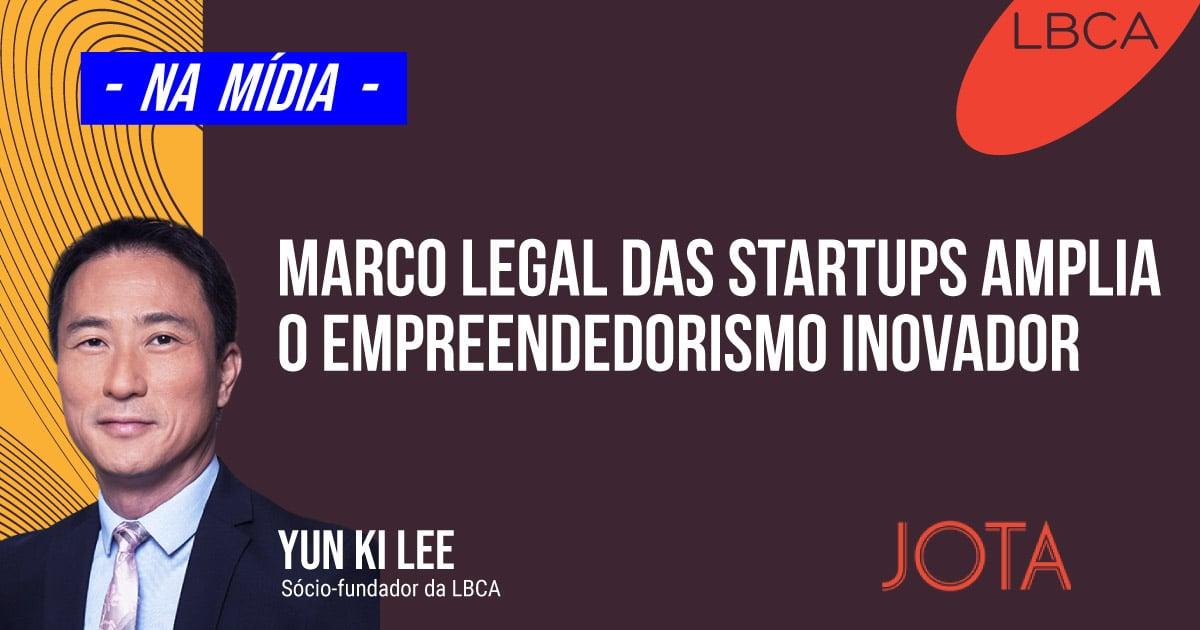 O empreendedorismo inovador é ampliado com o marco Legal das Startups