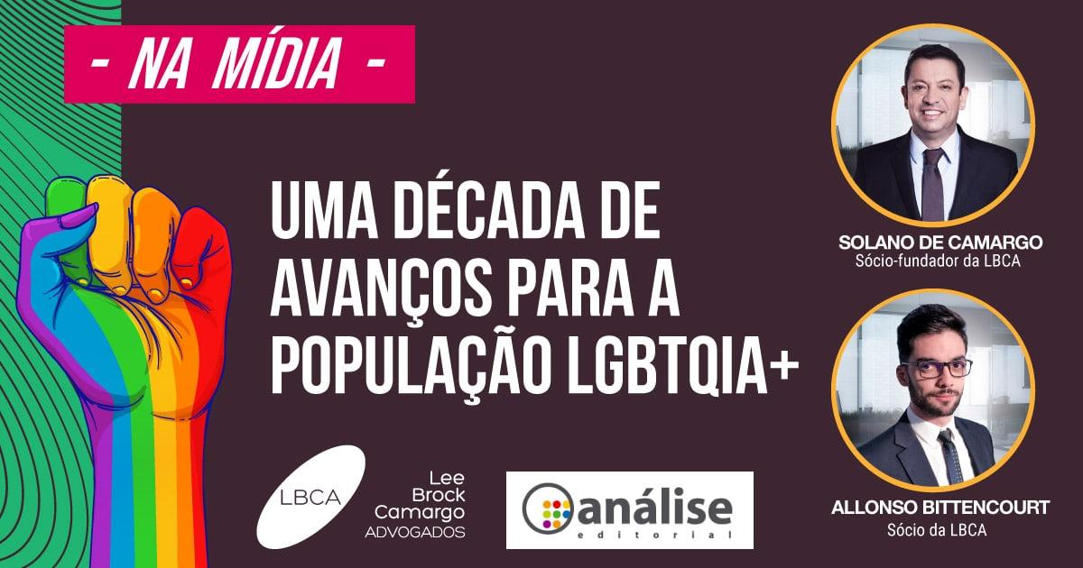 A comunidade LGBT em avanço