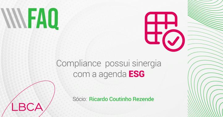 Compliance possui sinergia com a agenda ESG