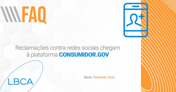 Reclamações contra redes sociais chegam à plataforma consumidor.gov